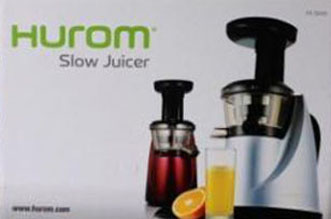 Hurom Slow Juicer Menu : NHE Group HUROM HA Series